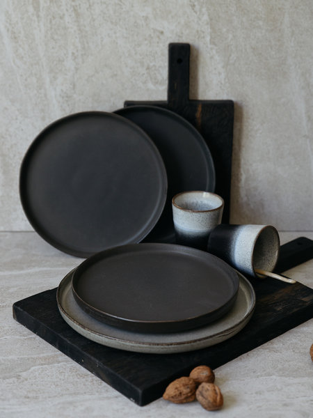 Breakfast Plate Matte Black