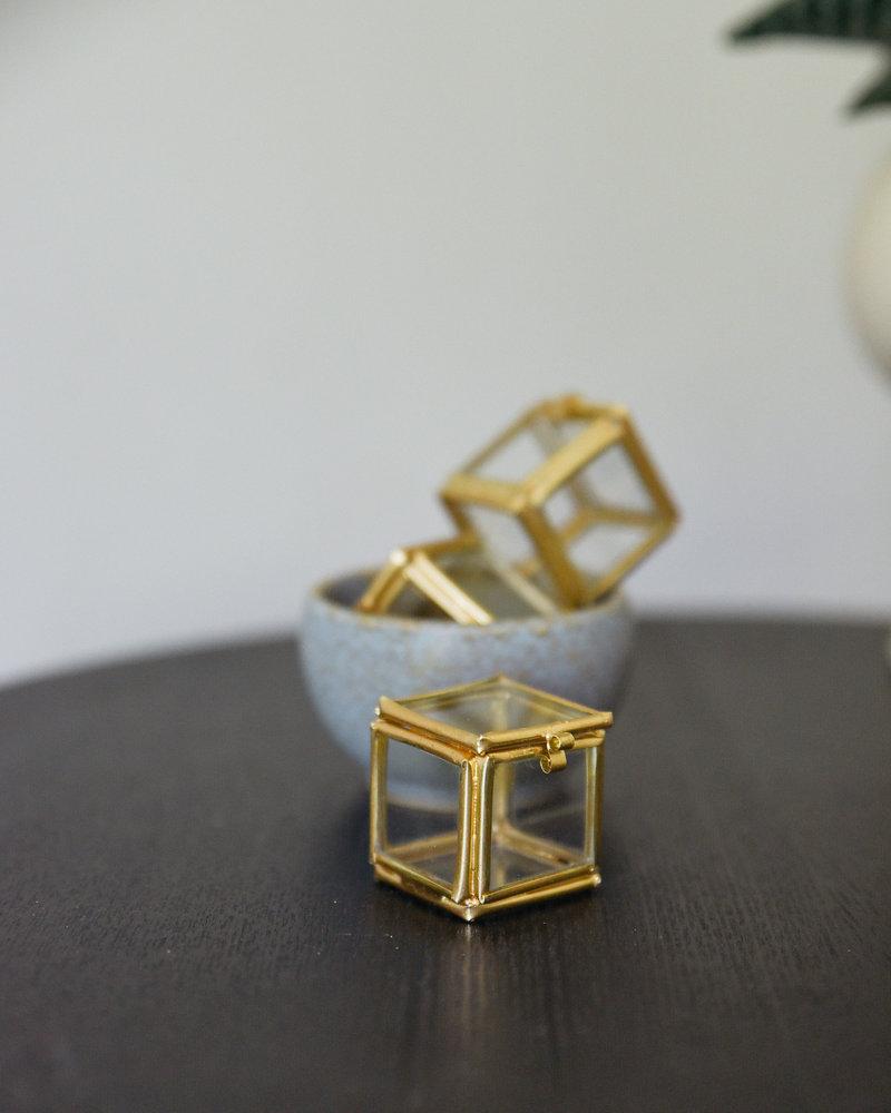 Glass Box Brass