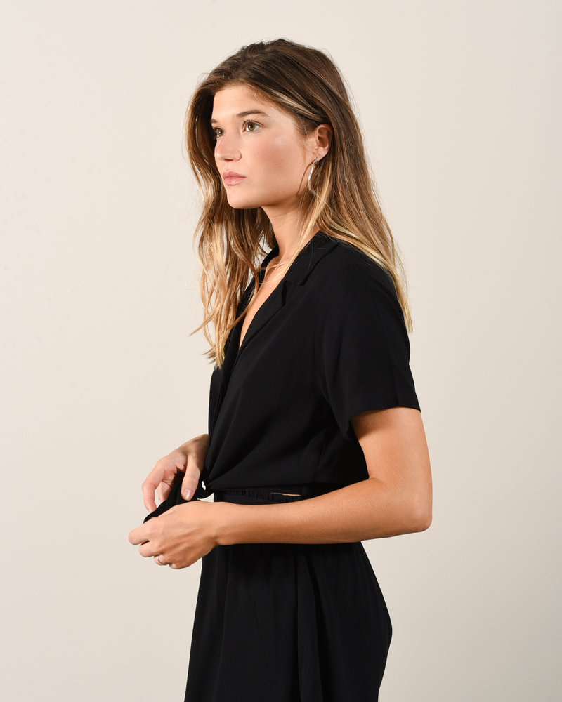 30238c Knot Top Black