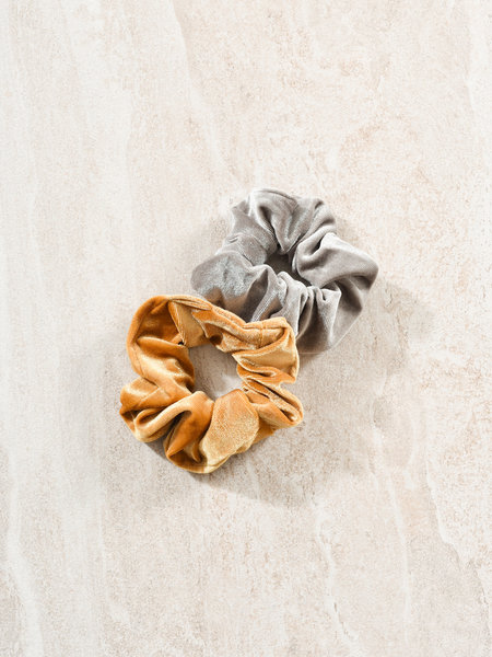 Scrunchies Grey - Ocher