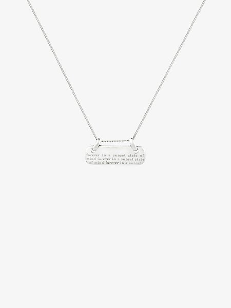 Wild things WT Mantra Pendant Silver