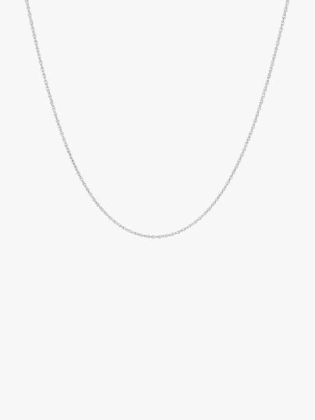 Wild things WT Rope Chain Necklace Silver