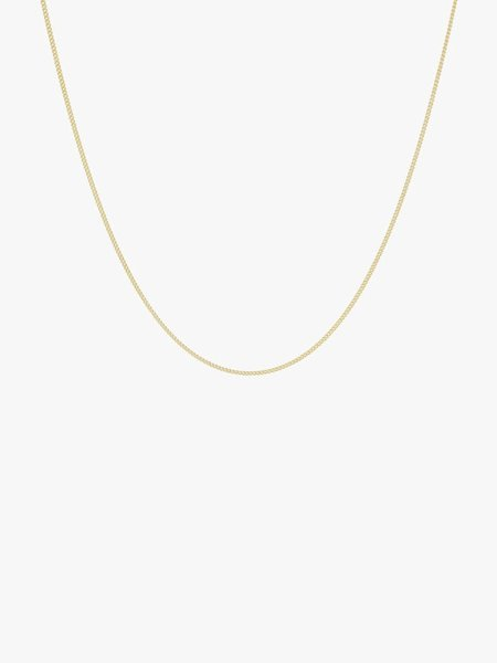 Wild things WT Curb Chain Necklace Gold