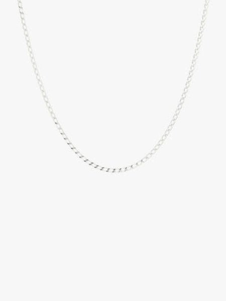 Wild things Medium Oval Silver Necklace