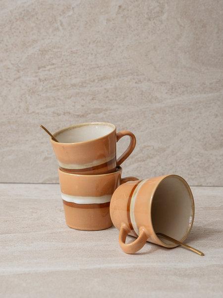 HKliving Cappuccino Mug Stream