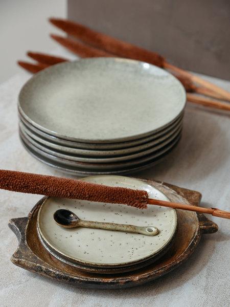 House Doctor Cake Plate Lake Grey