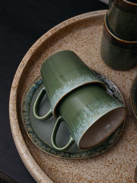 HKliving Cappuccino Mug Grass Green