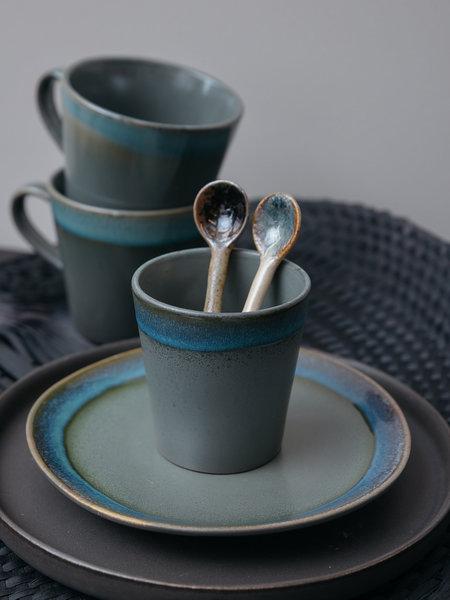 HK Living Ceramic Mug Moss