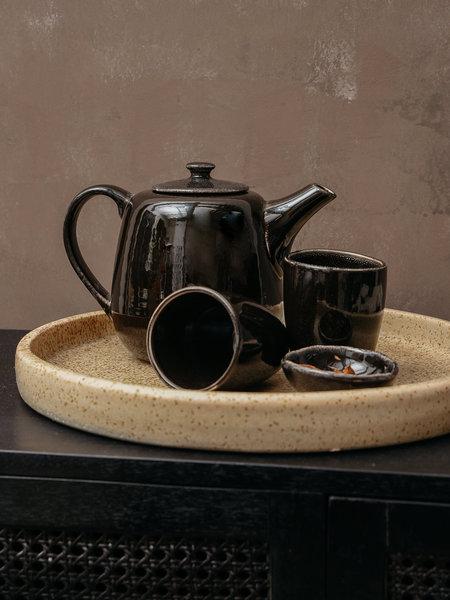 Broste Teapot Black Coal Big