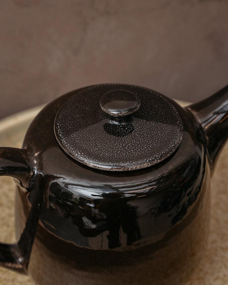 Teapot Black Coal