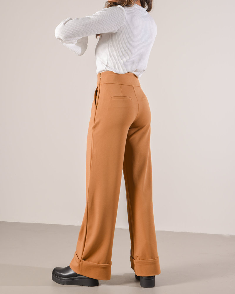 Tuck Up Wide Pant Rubber