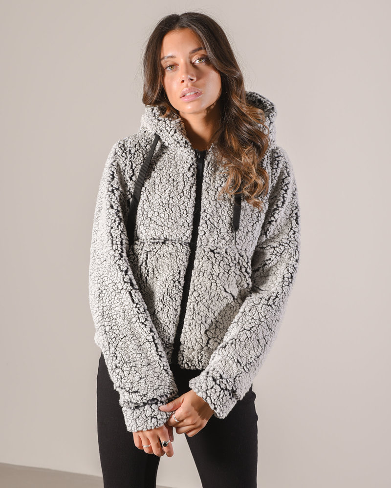 Jacket Light Grey Melange