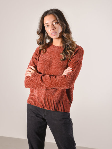 24Colours 40726b Sweater Brown