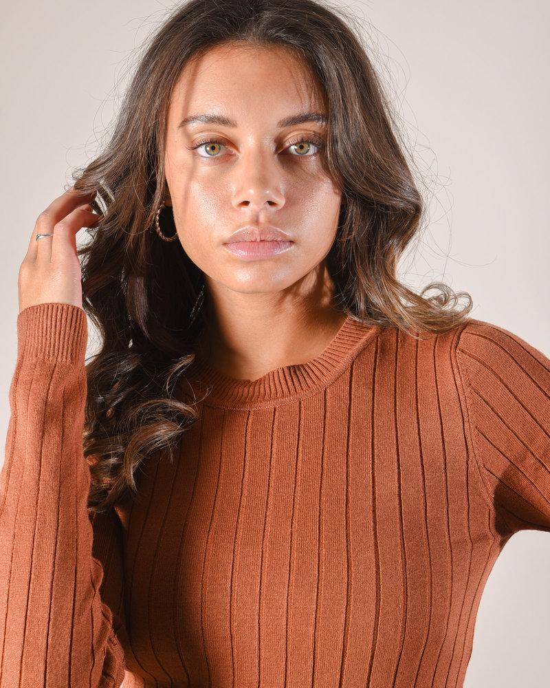 Knit Brown