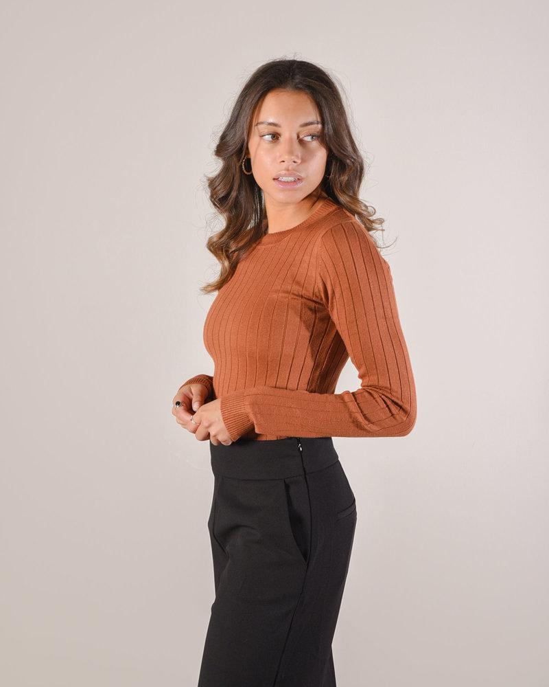 40655a Knit Brown