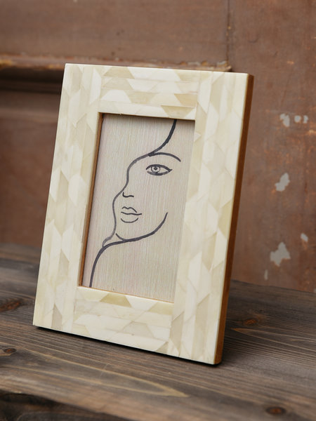 Photo Frame Ivory Face