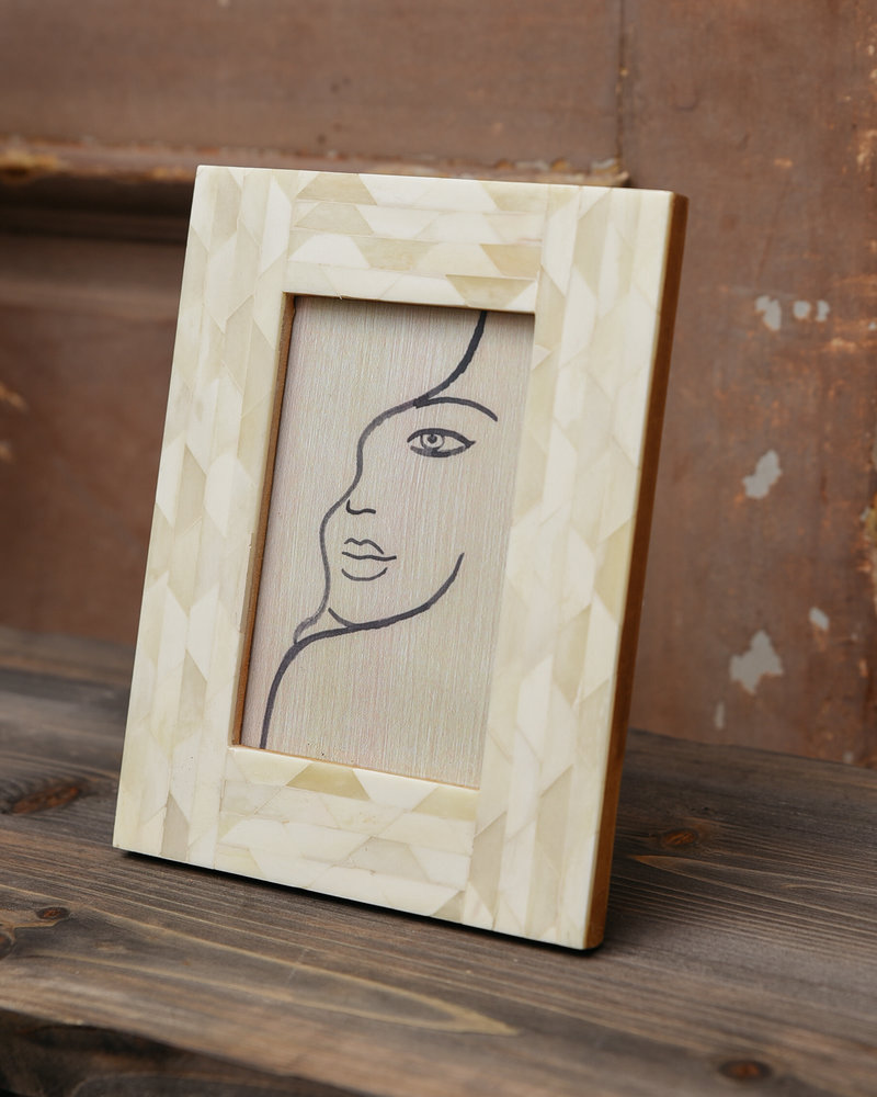 Photo Frame Ivory Face