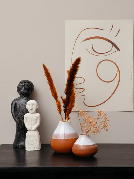 Vase Stoneware Terra