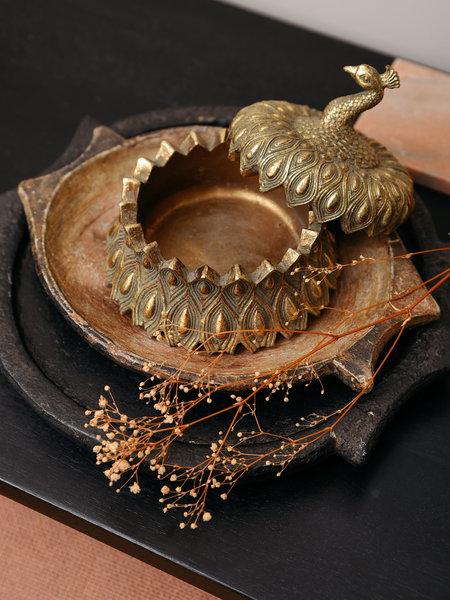 Box peacock gold