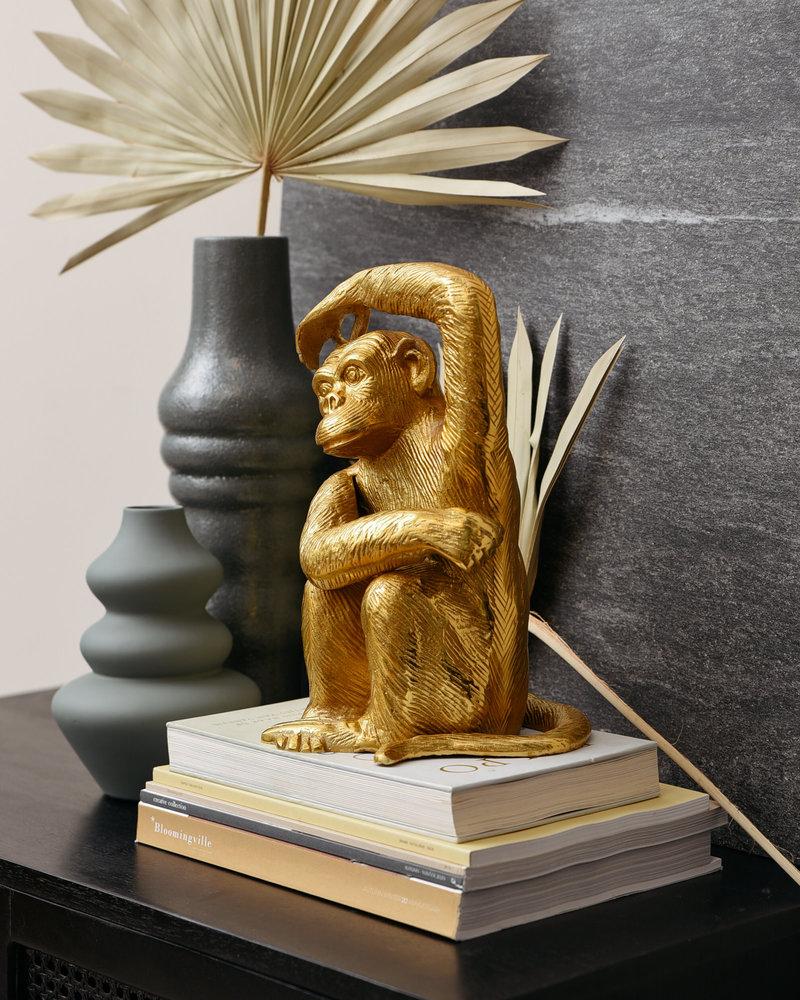 Large Ornament Monkey Gold