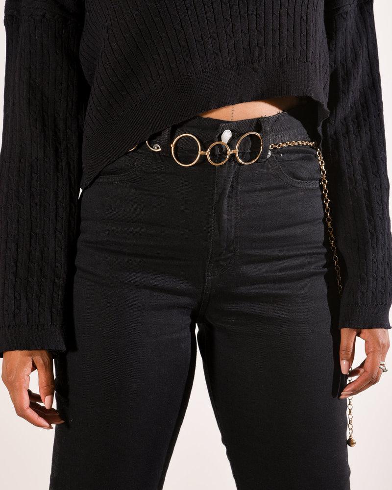 Belt Gold Rings