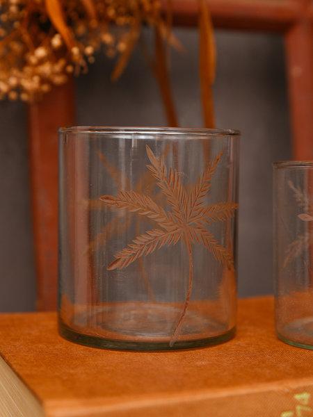Madam Stoltz Tealight Palm