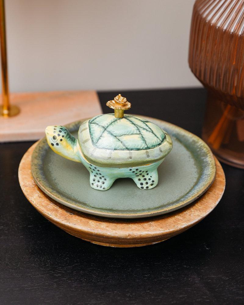 Tory Turtle Box Green