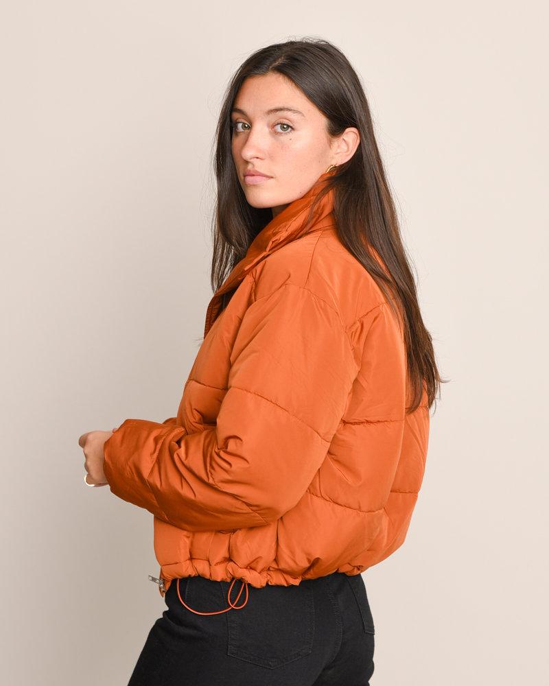 90307a Puffer Jacket Rust