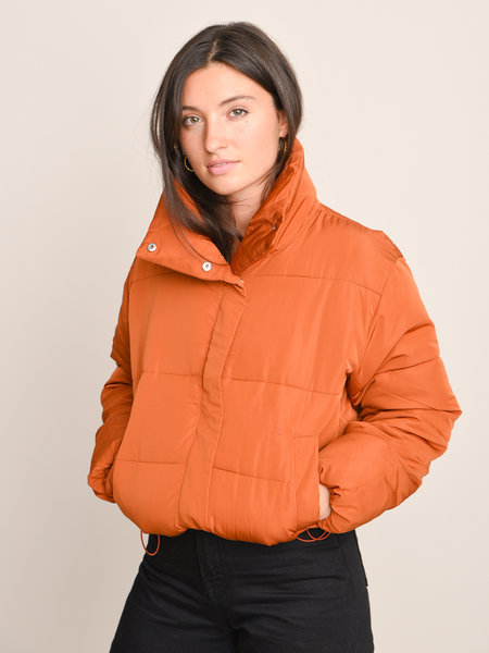 24Colours 90307a Puffer Jacket Rust