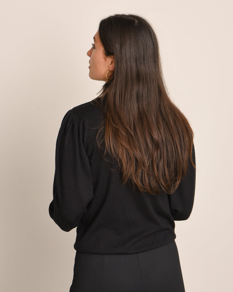 Talma Helena LS Pullover Black
