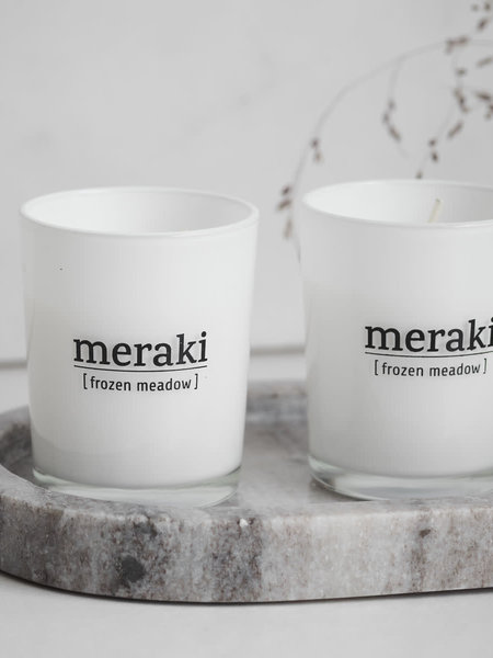 Meraki Scented Candle Winter Edition SET/2