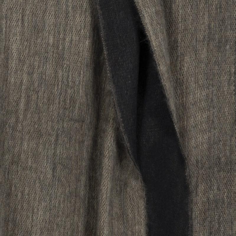 Shawl Doble Black Sandstone
