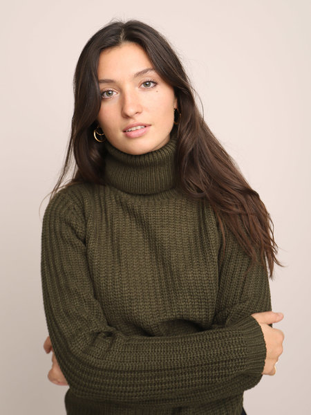 Rut & Circle Tinelle Rollneck Army Green
