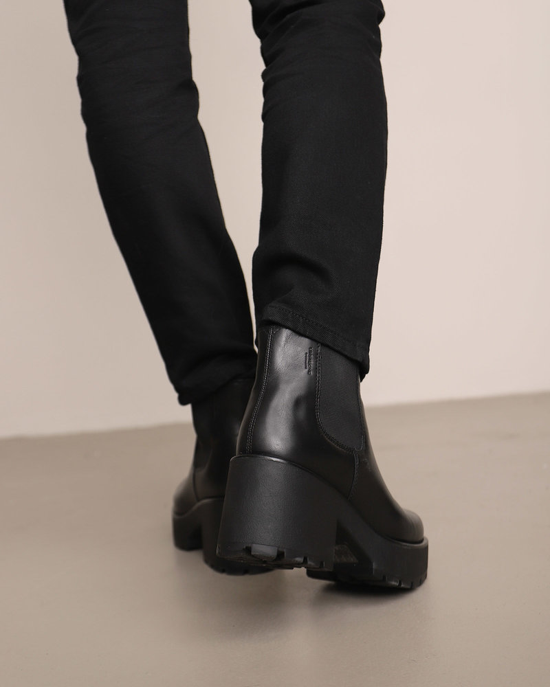 DIOON Black Leather Boots