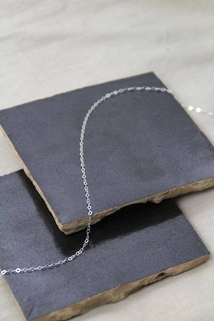 Big Round Chain Necklace 40 CM