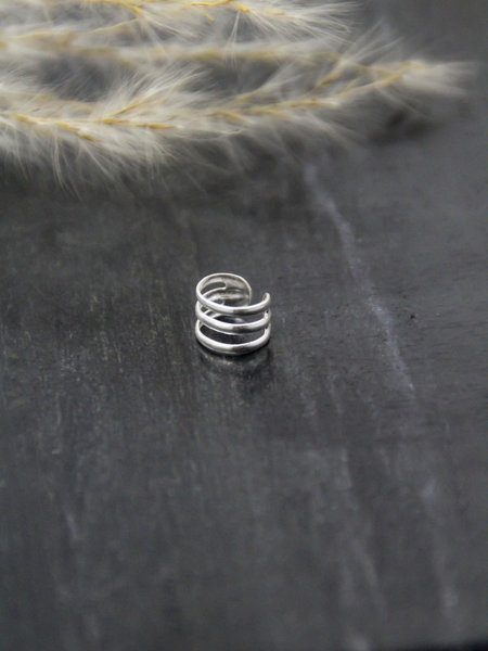 Silver Earcuff Three