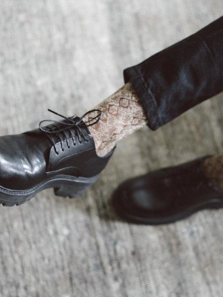 MP Denmark MP Glitter Socks Snake Gold