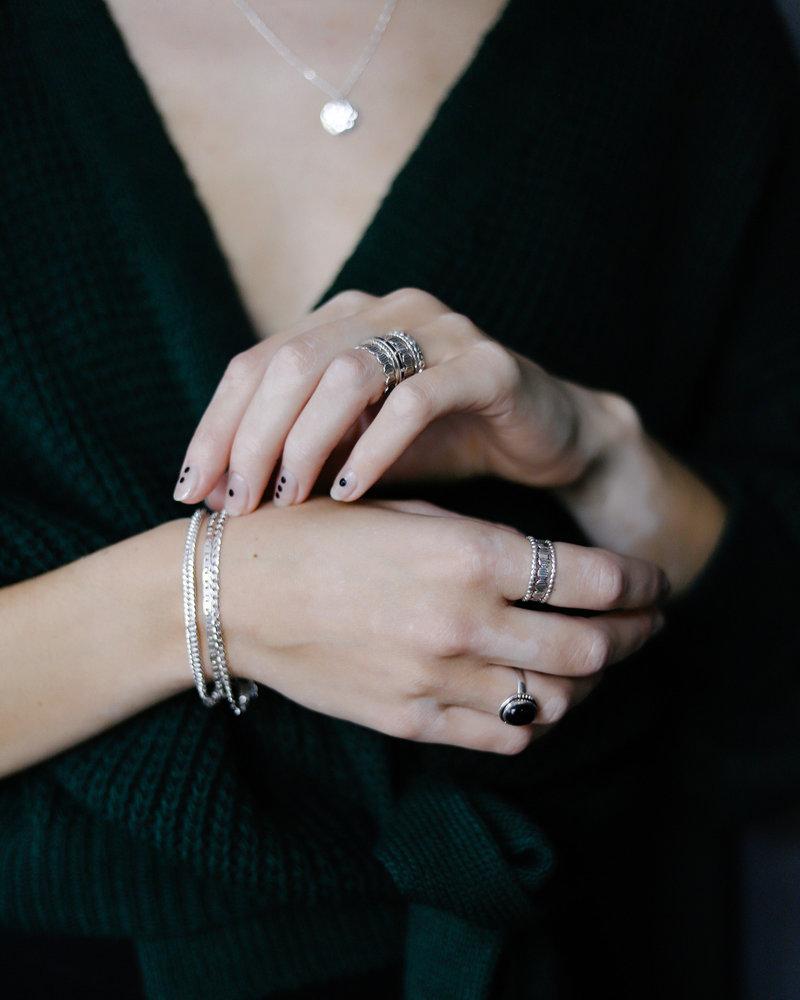 Tough Chain Silver Bracelet
