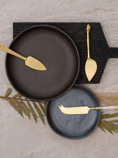 HKliving Cheese Knives Set/3 Gold