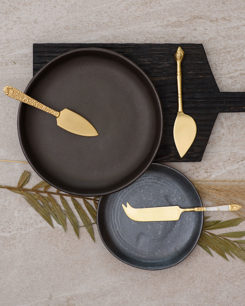 Cheese Knives Set/3 Gold