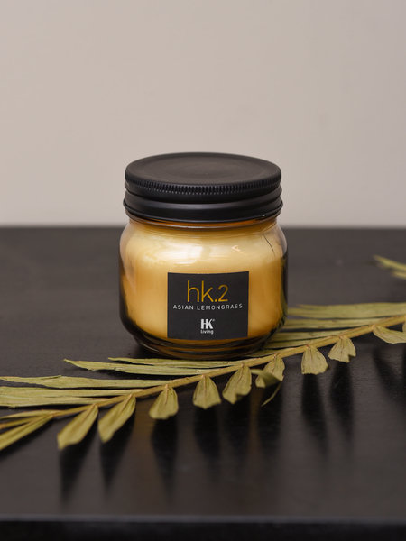 HK Living Candle Soy Asian Lemongrass