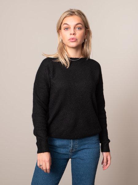 MSCH Femme Mohair O Pullover Black