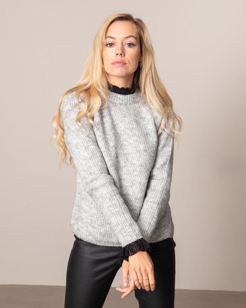 Allu O-neck Knit Pullover LGM