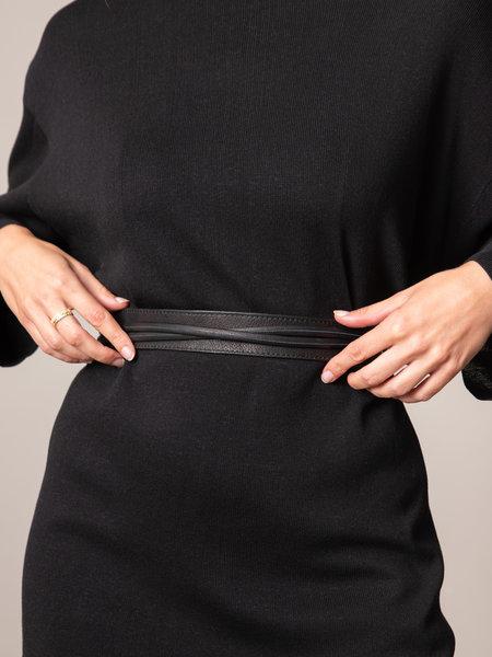 Tie Belt Black 3cm