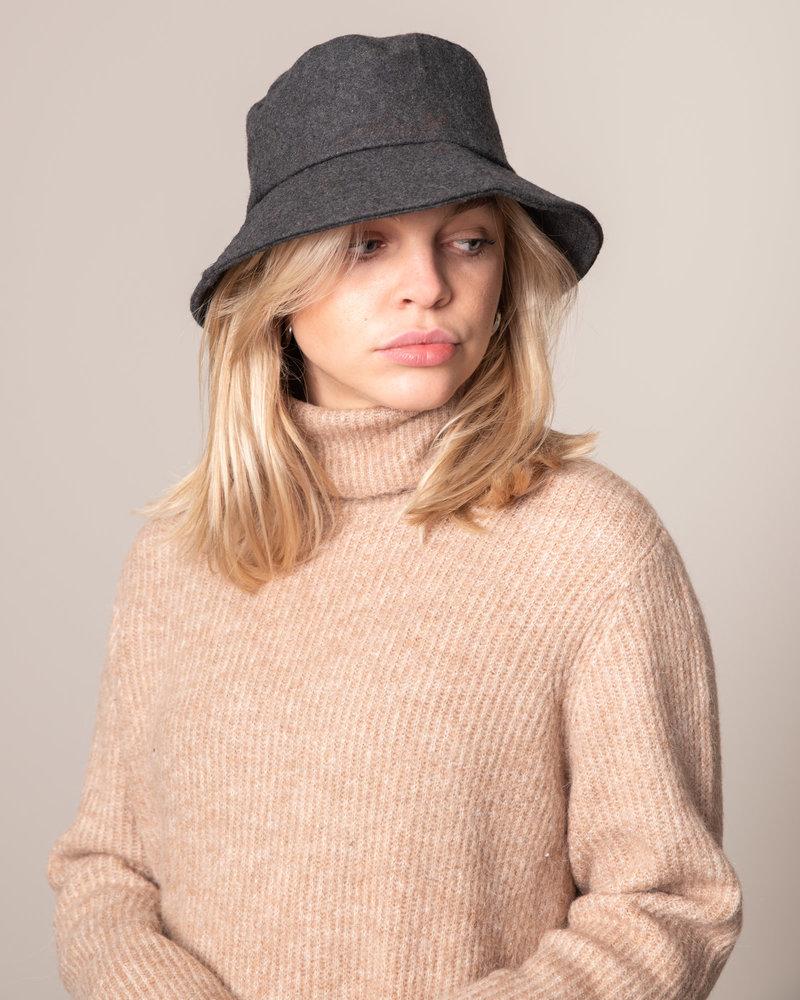 Wool Bucket Hat Grey