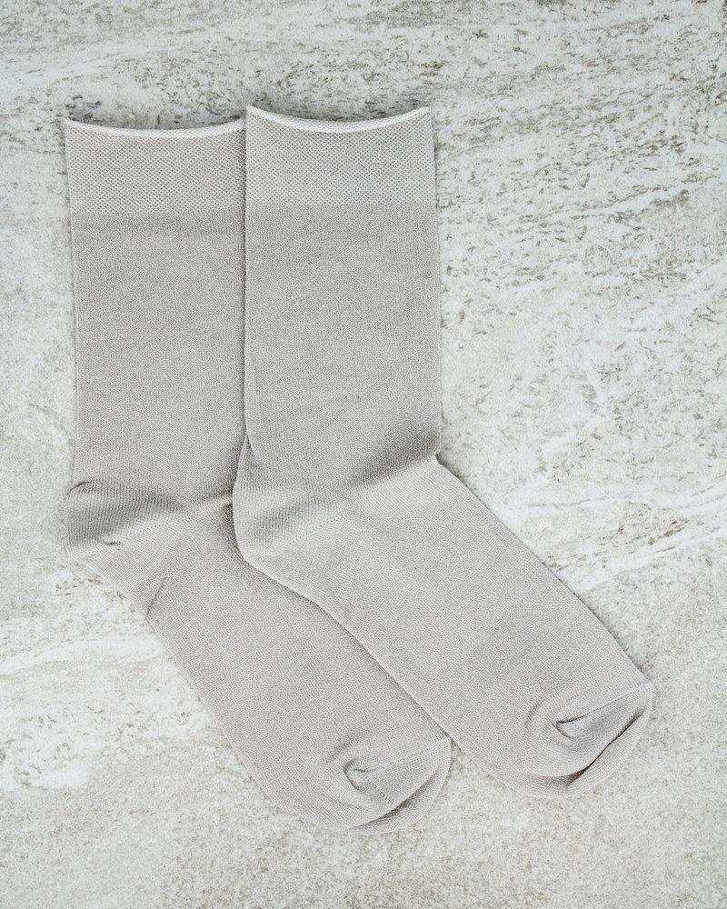 MP Glitter Socks Silver