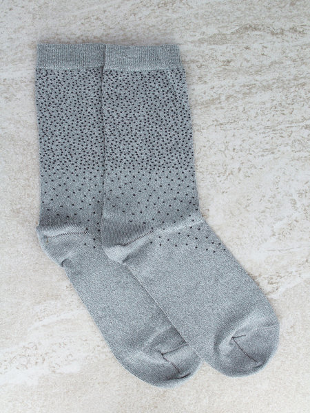 MP Denmark MP Glitter Socks Mint Dots