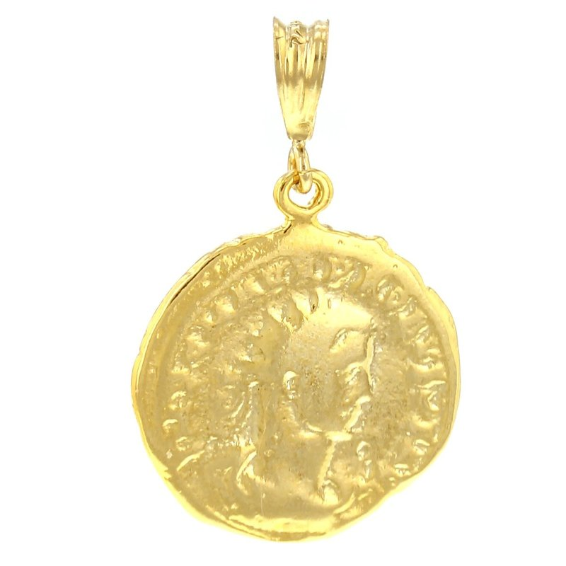 Goldfilled Necklace Charm Bologna