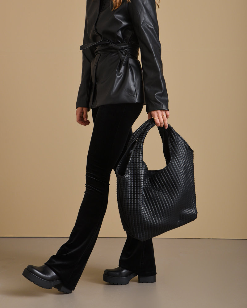 Structured Hobo Tote Bag