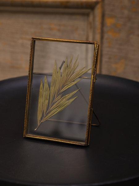 Madam Stoltz Brass Detail Photo Frame